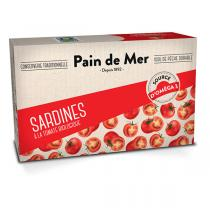 Pain de Mer - Sardines à la tomate 120g/90g