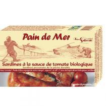 Pain de Mer - Sardines à la tomate 120gr