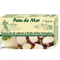 Pain de Mer - Tentacules de calamars à l'huile d'olive 120g/90g