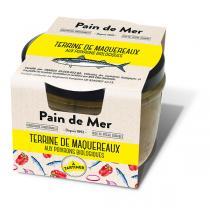 Pain de Mer - Terrine de maqueraux aux poivrons 125g