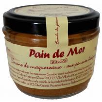 Pain de Mer - Terrine de maqueraux aux poivrons 125gr