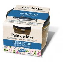 Pain de Mer - Terrine de thon aux condiments biologiques 125g