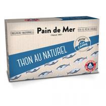Pain de Mer - Thon au naturel 120g/90g