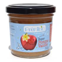 Prémibio - Pomme Vanille 112gr