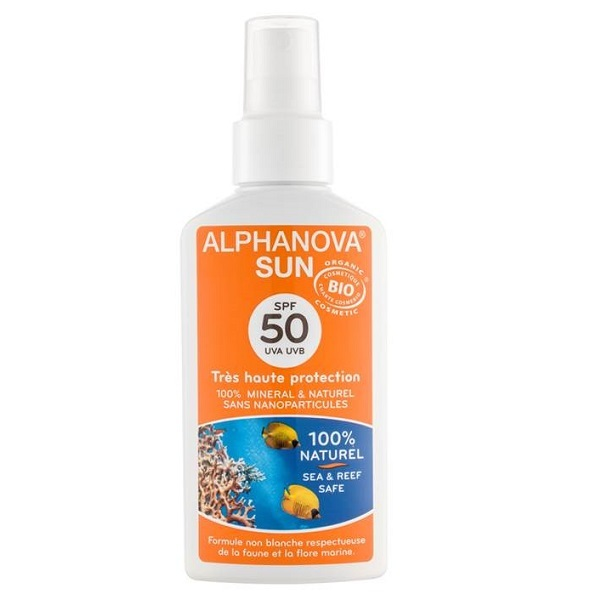 Alphanova -  High Protection Organic Solar Milk SPF 50+
