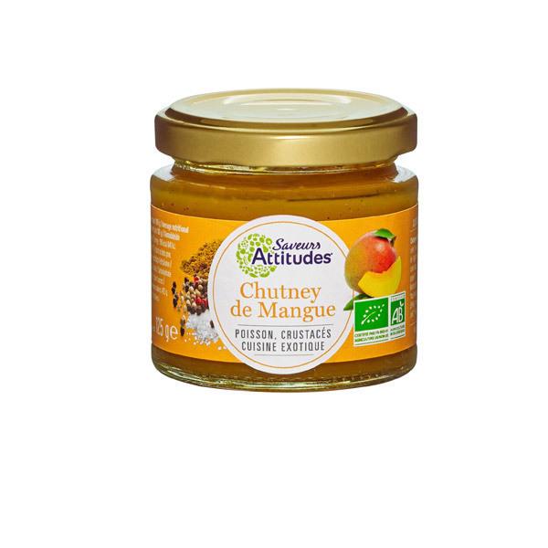 Saveurs Attitudes - Chutney de mangues bio 125gr