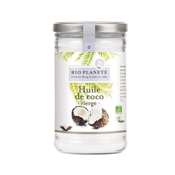 huile de noix de coco vierge utilisation