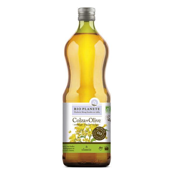 Bio Planète - Huile d'assaisonnement Colza + Olive 1L