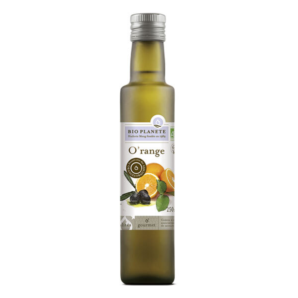 Bio Planète - Huile d'olive O'range vierge extra 250ml