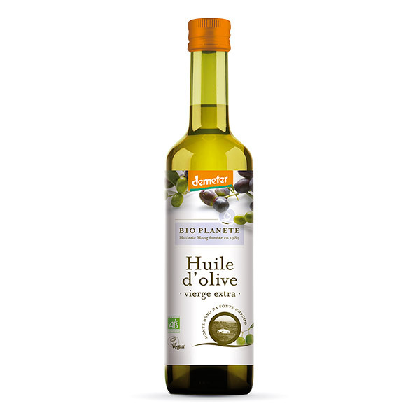 Bio Planète - Huile d'olive vierge extra  Demeter 50cl