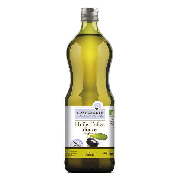 Bio Planète - Huile d'olive vierge extra Douce 1L