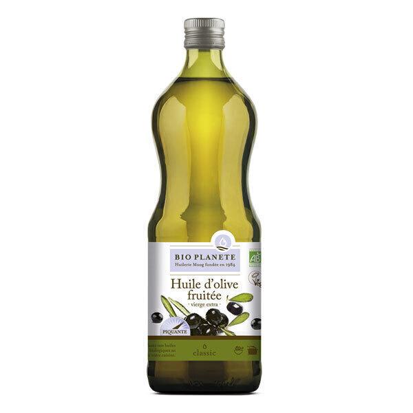 Bio Planète - Huile d'olive vierge extra Fruitée 1L