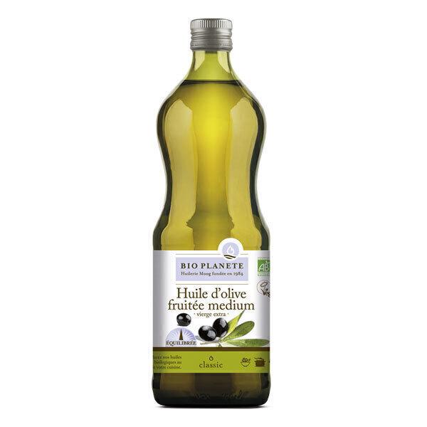 Bio Planète - Huile d'olive vierge extra Fruitée Medium 1L