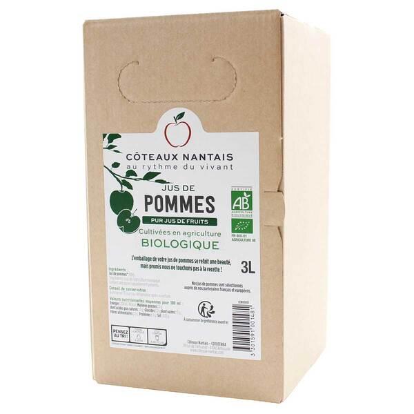 Côteaux Nantais - Bib jus de pommes 3L