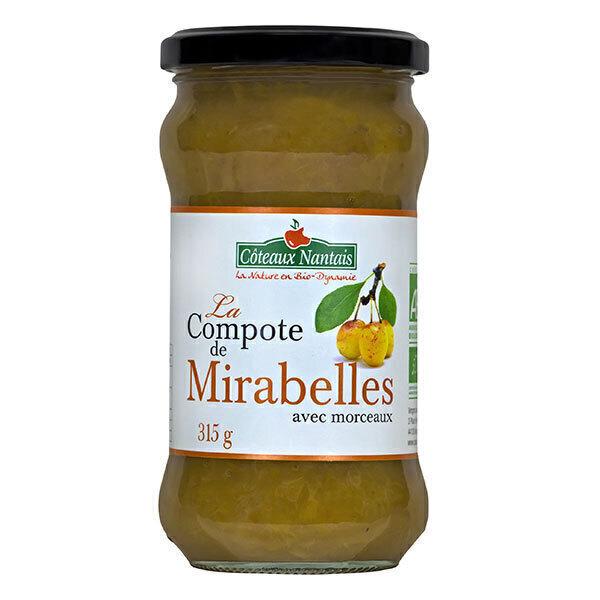 Côteaux Nantais - Compote de mirabelle 315g
