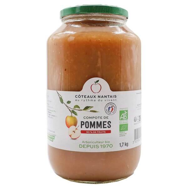 Côteaux Nantais - Compote de pommes 1,7kg