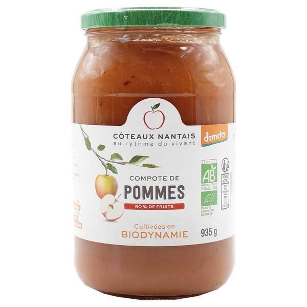 Côteaux Nantais - Compote de pommes Demeter 935g