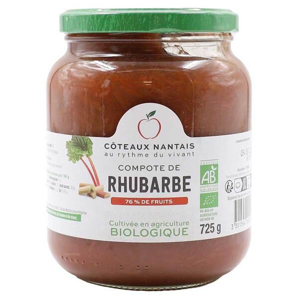 Côteaux Nantais - Compote de rhubarbe 725g
