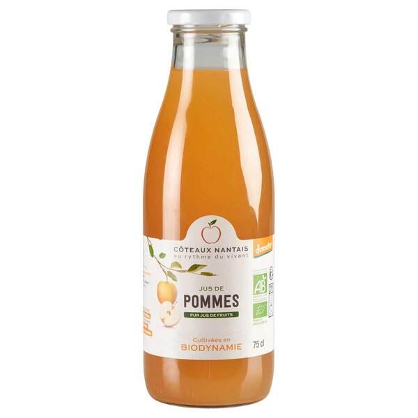 Côteaux Nantais - Jus de pommes Demeter 75cl