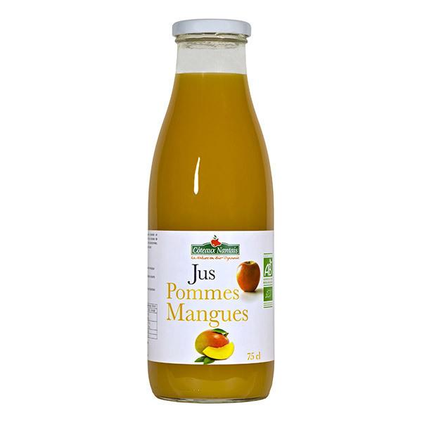 Côteaux Nantais - Jus pommes mangues Bio 75cl