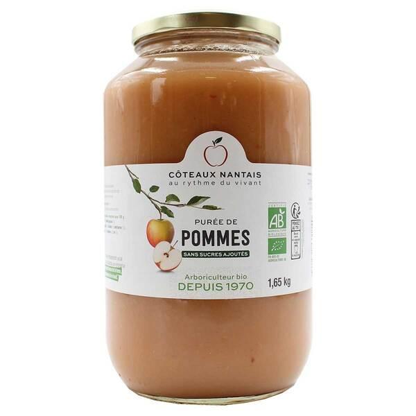 Côteaux Nantais - Purée de pommes 1,65kg