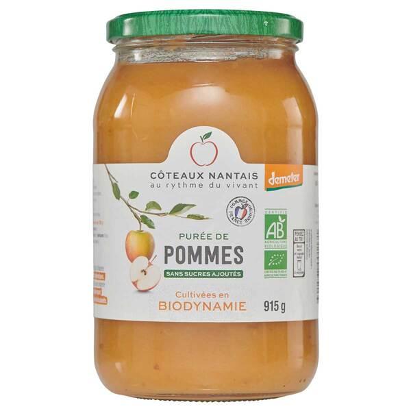 Côteaux Nantais - Purée de pommes Demeter 915g