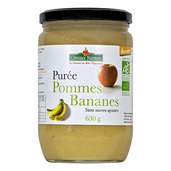 Côteaux Nantais - Purée pommes bananes Demeter 630g