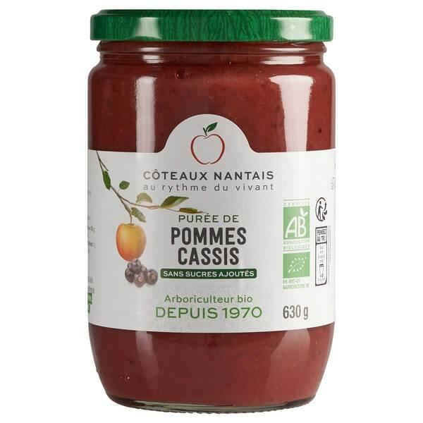Côteaux Nantais - Purée pommes cassis 630g