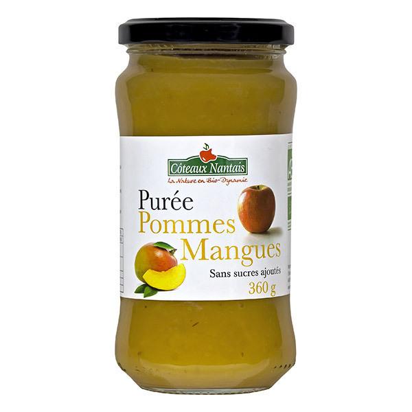 Côteaux Nantais - Purée pommes mangues Demeter 360g