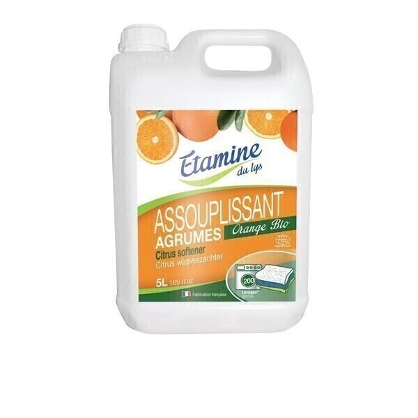 Etamine du Lys - Assouplissant agrume 5L