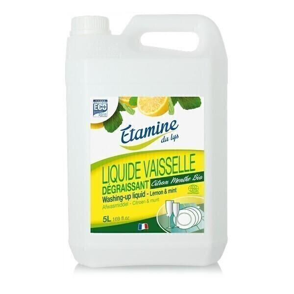liquide vaisselle citron menthe 5l etamine du lys acheter sur. Black Bedroom Furniture Sets. Home Design Ideas