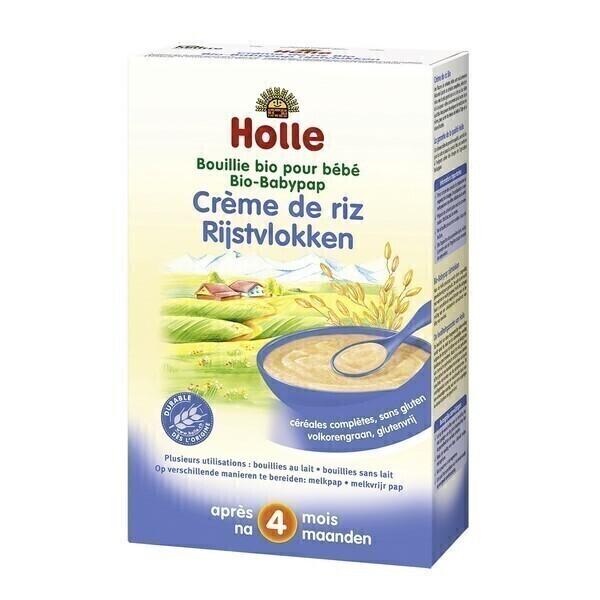 Holle - Lot de 3 boites Crème de Riz pour bébé