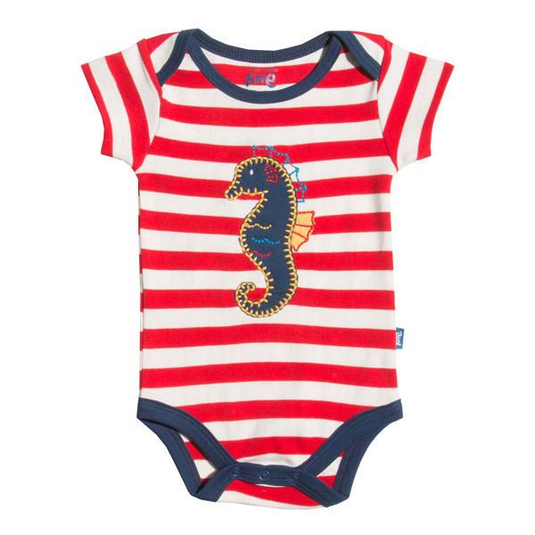 Kite Kids - Body Garçon Stripy Seahorse