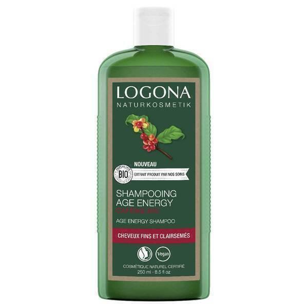 Logona - Shampooing age energy à la caféine 250ml