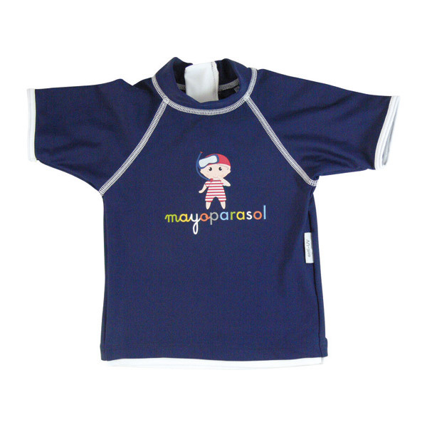 Mayoparasol - Bade T-Shirt MARINE-PIRAT