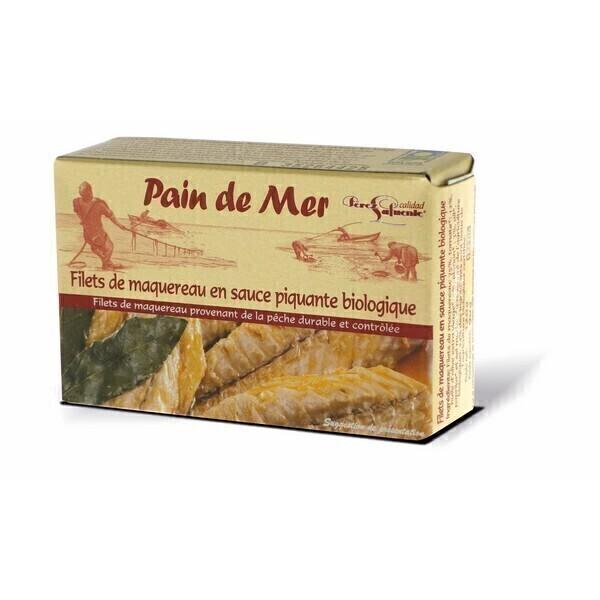 Pain de Mer - Filet de maquereaux sauce piquante 120gr