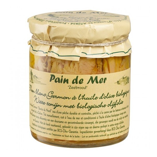 Pain de Mer - Filets de thon blanc bonito à l'huile d'olive 220gr