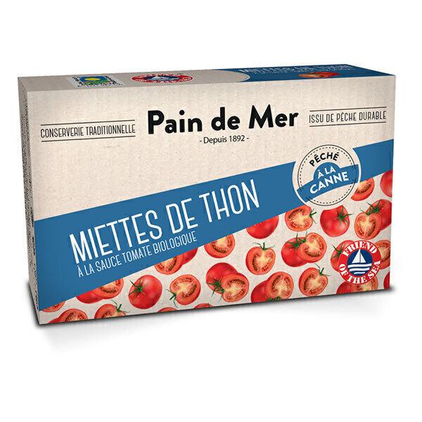 Pain de Mer - Miettes de thon à la tomate 114g/80g