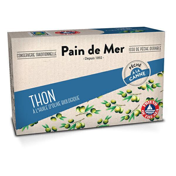 Pain de Mer - Thon à l'huile d'olive 120g/90g