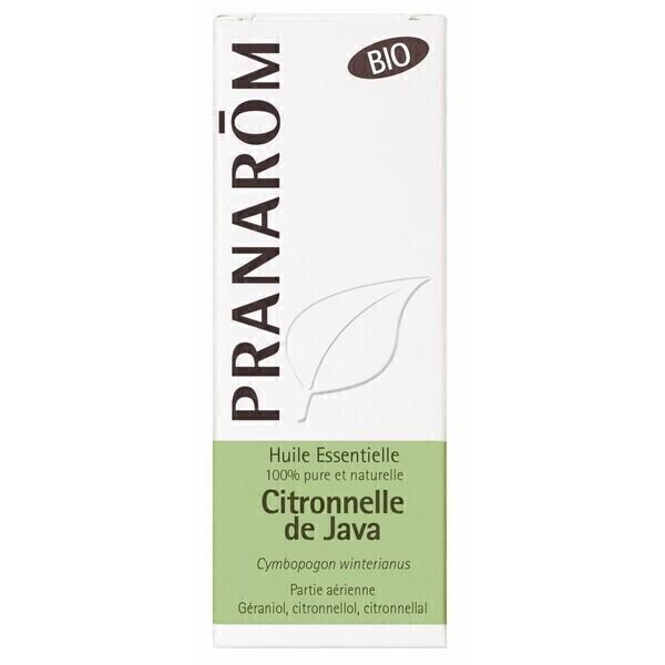 Pranarôm - Huile essentielle Citronnelle de Java Bio 10ml