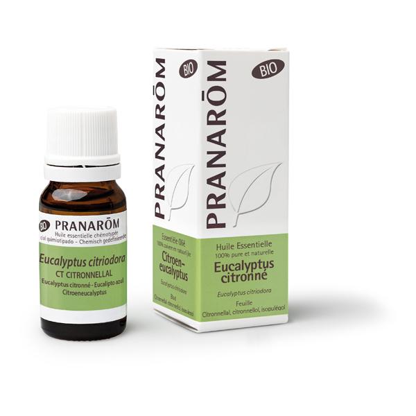 Pranarôm - Huile essentielle Eucalyptus citronné Bio 10ml