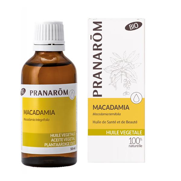 Pranarôm - Huile végétale Macadamia Bio 50ml