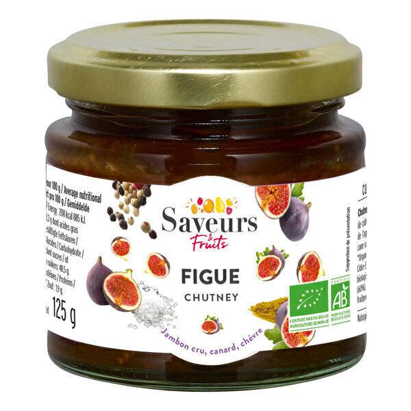 Saveurs & Fruits - Chutney de figues bio 125gr
