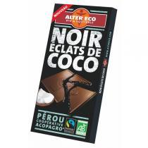 Alter éco - Chocolat Noir à la noix de coco râpée 100g