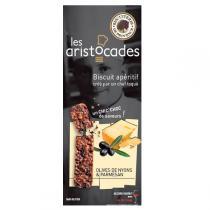 Biscuiterie de Provence - Les Aristocades Olives de Nyons et Parmesan 65g