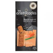Biscuiterie de Provence - Les Aristocades Saumon fumé & Safran 65g