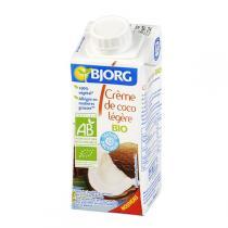 Bjorg - Aide culinaire Creme coco legere 200ml