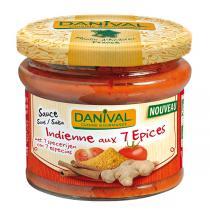 Danival - Sauce indische Art mit 7 Gewürzen 210 g