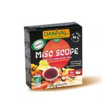 Danival - BIO Miso-Suppe - 4 x 10 g Beutel