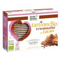 L'Emile Saveurs - Tartines sans gluten cacao bio (2x100gr)
